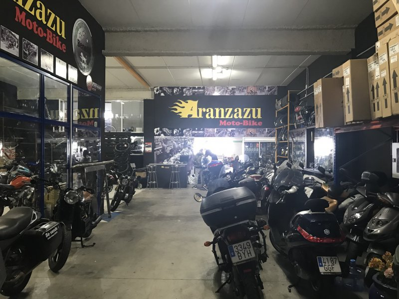 Aranzazu Moto-Bike, TALLER, vista 1