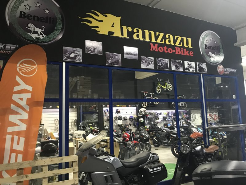 Aranzazu Moto-Bike, TALLER, vista 2